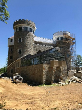 Building my castle a dream come true for Build a castle home